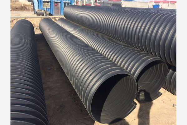 HDPE钢带增强螺旋波纹管基础知识简介及使用规范!