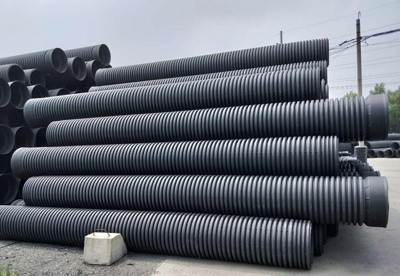生产双壁波纹管工艺两步法的主要特点。
