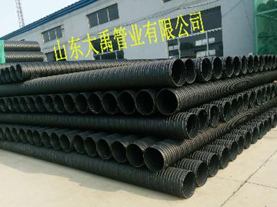HDPE塑钢缠绕排水管