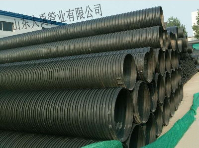 山西HDPE塑钢缠绕排水管