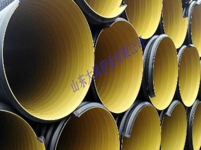 山东钢带增强螺旋波纹管